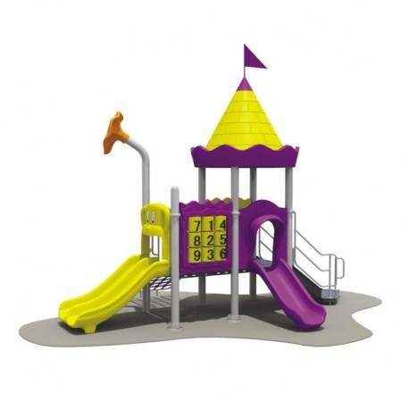 Estación de juegos Plaza Triple Tobogán