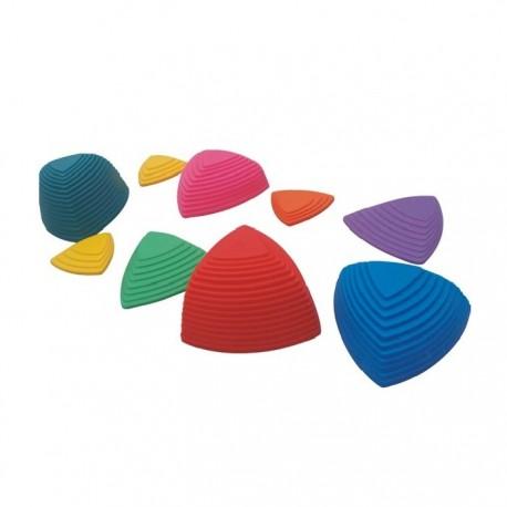 Set piedras de equilibrio sensorial motricidad