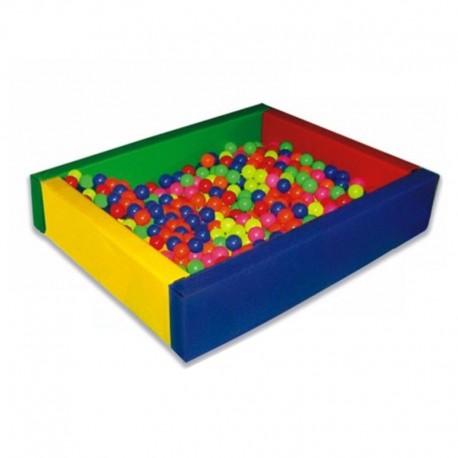 Piscina para pelotas espuma para motricidad for Piscina hinchable cuadrada