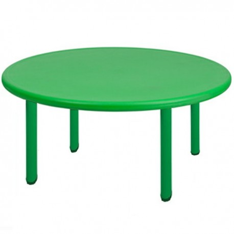 Mesa redonda verde