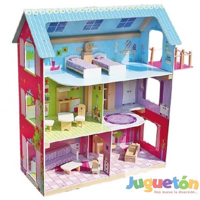 Casa de Muñecas Monica barbie