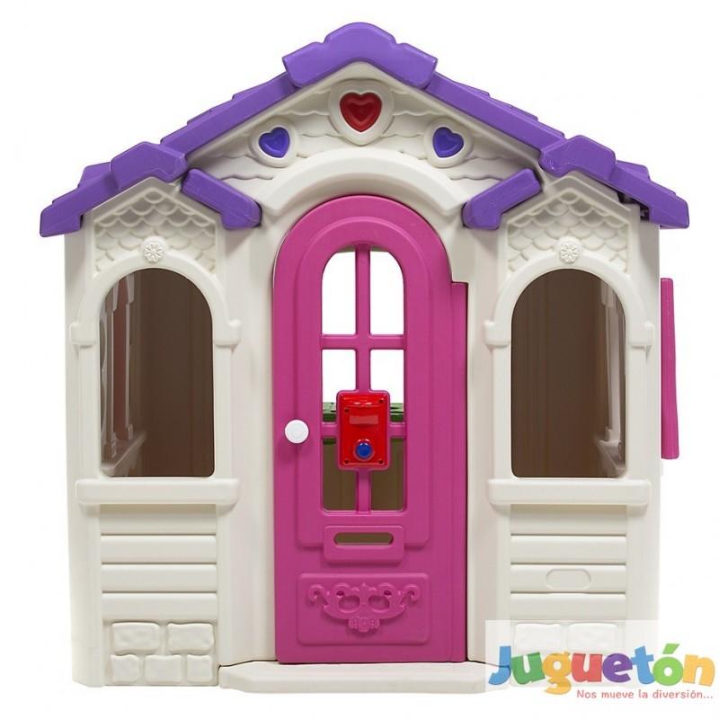 Casa de juegos mu ecas playhouse corazones princesas ni as - Juegos divertidos para casa ...