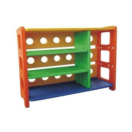 Estante con repisas juguetes plastico - Muebles para chicos ...