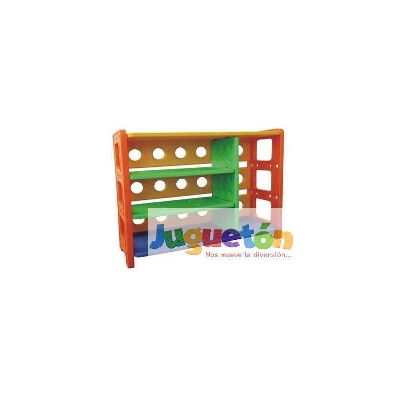 Estante con repisas juguetes plastico - Estantes para juguetes ...