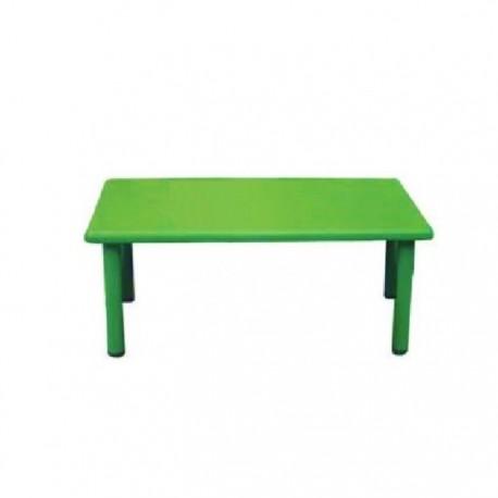 Mesa rectangular verde