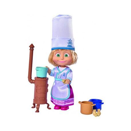 Muñeca Masha 16 Cm Cocinera