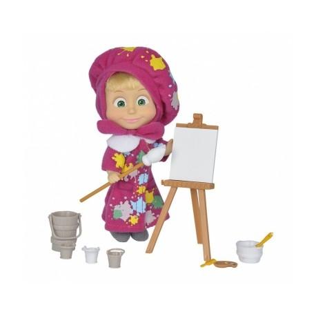 Muñeca Masha 16 Cm Pintora