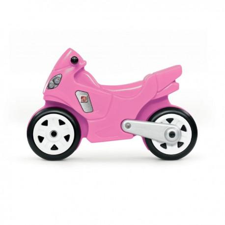 Correpasillo Moto rosada step 2