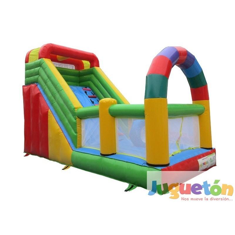 Venta juegos inflables tobog n arco multicolor for Ventas piscinas inflables