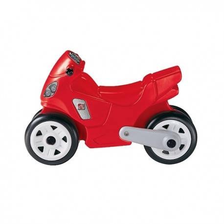Moto Roja Correpasillo Step 2
