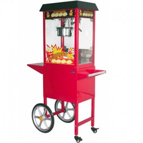 Maquina de Cabritas palomitas Pop Corn con carro