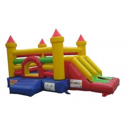 Juego Inflable Multiproposito Castillo Color