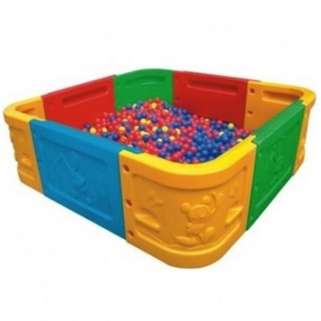 Piscina para pelotas modular 4 m2
