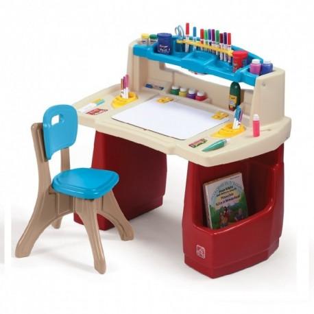 Escritorio maestro arte Step 2 art deluxe desk