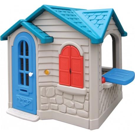Casa de juegos muñecas estilo americano