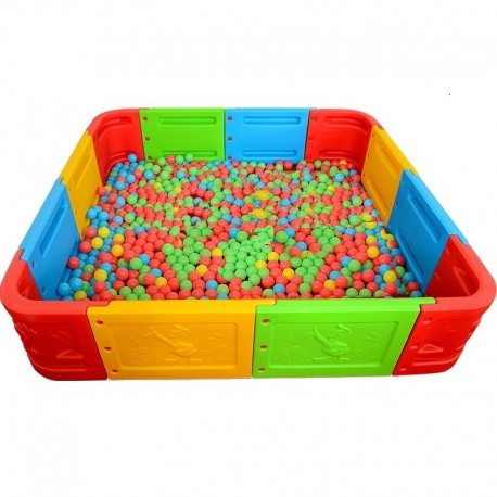 Piscina para pelotas modular 6 m2
