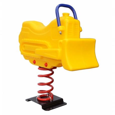 Juego Resorte Infantil Excavadora tractor