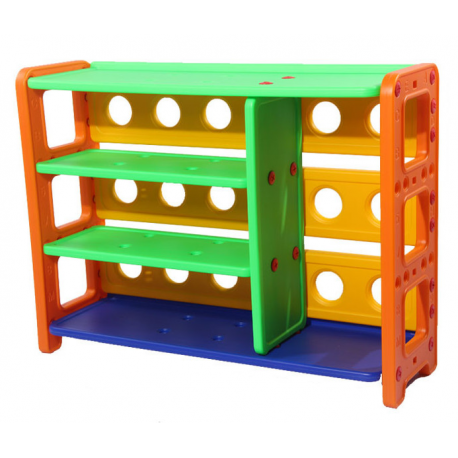 Mueble Estante organizador libro cuentos  juguetes repisas Plástico