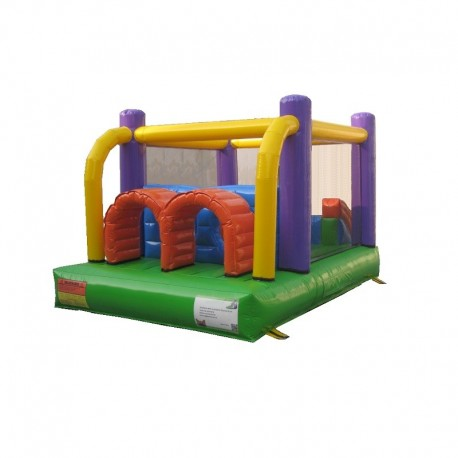 Juego Inflable Castillo Multiproposito Obstaculos
