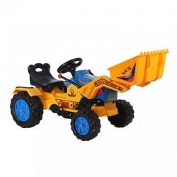 Auto Go Kart Pedales Cargador Azul Construcción Ingenieria