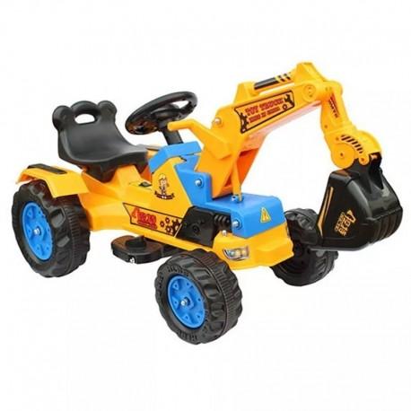 Auto a Batería Electrico Excavador Construcción Ingenieria