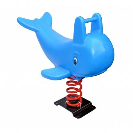 Juego Resorte Infantil delfin ballena