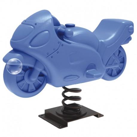 Juego Resorte Infantil moto velocidad