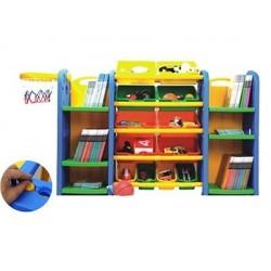 Mueble Estante Repisas Cajas Plástico
