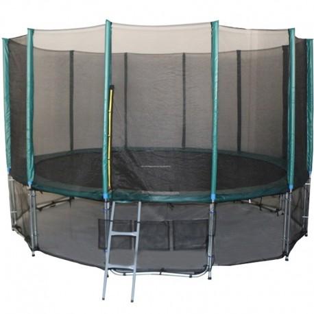 cama elástica elastica trampolin saltarina 4,87m 16 FT