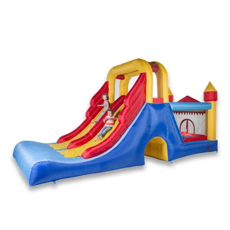 Tobogan Doble Juego Inflable