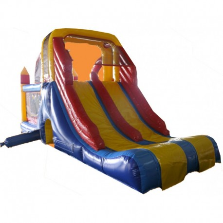 Tobogan Doble Profesional Inflable
