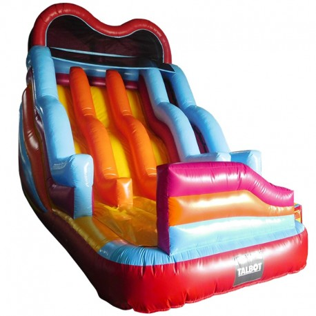 JUEGO INFLABLE TOBOGAN TRIPLE
