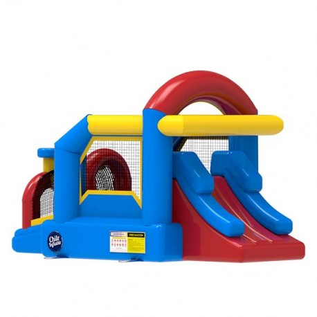Juego Inflable Castillo Tren Gold