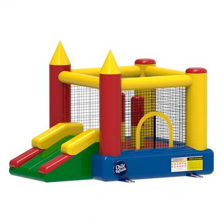Juego Inflable Castillo Plaza Gold