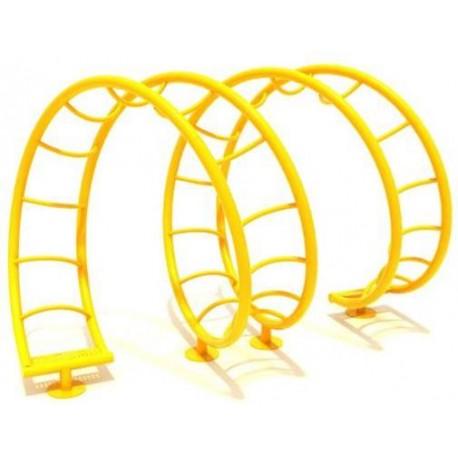 Escalador Acero Escalador Espiral Doble