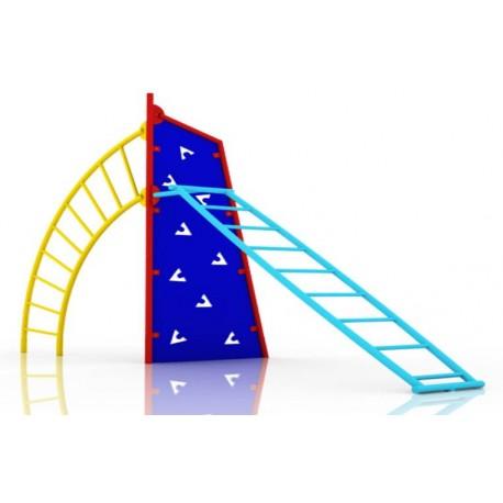 Escalador Acero Muro Magico