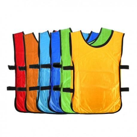 Football Vest niño  camisetas de entrenamiento chalecos Pecheras Fútbol