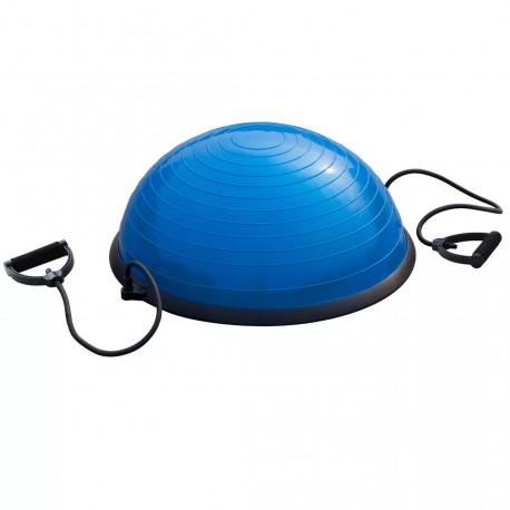 BALON BOSU 60 CM Azul CON MANILLAS