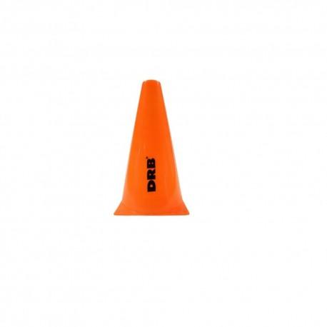 Cono Plástico DRB 48cm Naranja Fluo Dribbling Entrenamiento