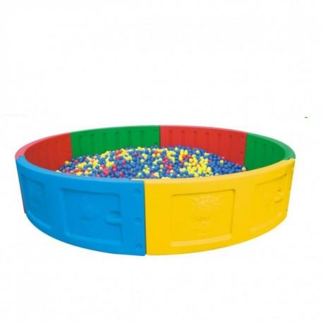 piscina de pelotas redonda
