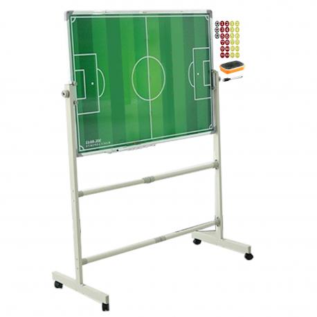 Pizarra Tactica Magnética Futbol con Atril movible