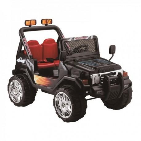 Auto a batería Jeep Negro RC