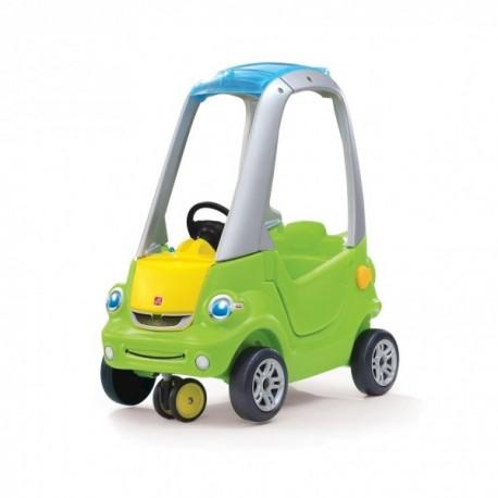 auto verde giro 3d correpasillos
