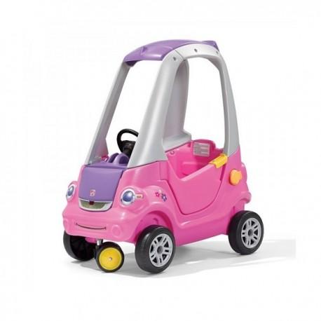 auto rosado giro 3d correpasillos